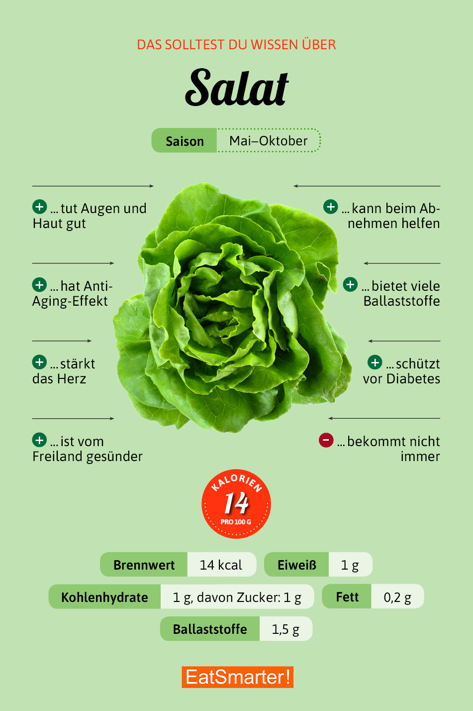 Blattsalate Eat Smarter