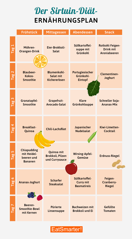 Reichhaltige und einfache Diäten zum Abnehmen