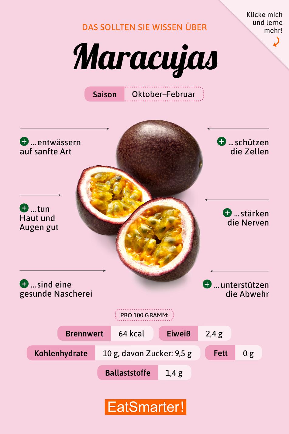 Maracuja Kulinarisches Aha Erlebnis Eat Smarter